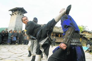 Donnie Yen kung fu fighting