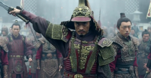 Long Chen as General Meng Zhi in Nirvana in Fire
