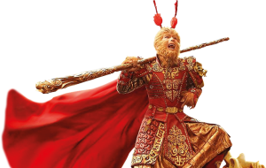 Donnie Yen as The Monkey King in The Monkey King