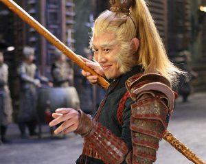 Jet Li as The Monkey King in Forbidden Kingdom